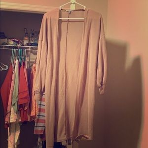 Long sleeve cover up